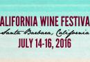 2016 CALIFORNIA WINE FESTIVAL