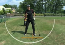 Justin Rose. Driver ball position
