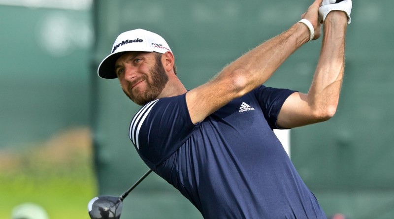Dustin Johnson leads (Michael Weinstein photo)