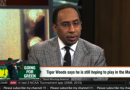 """ESPN First Take – Steven A. Smith """"Tiger Woods is Done"""""""