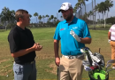 "Marc Leishman Golf Tip ""Swing on the line of my feet"""
