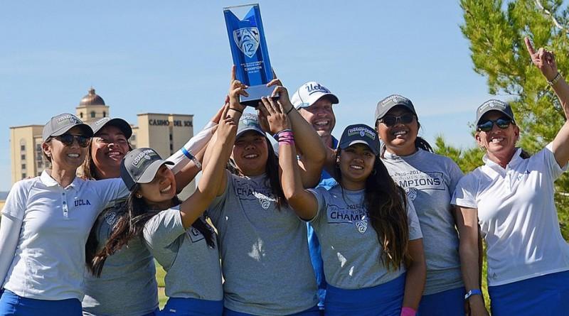 UCLA wins Pac-12 women's golf title