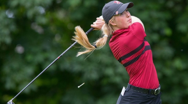 Casey Danielson of Stanford wins Dinah Shore Award