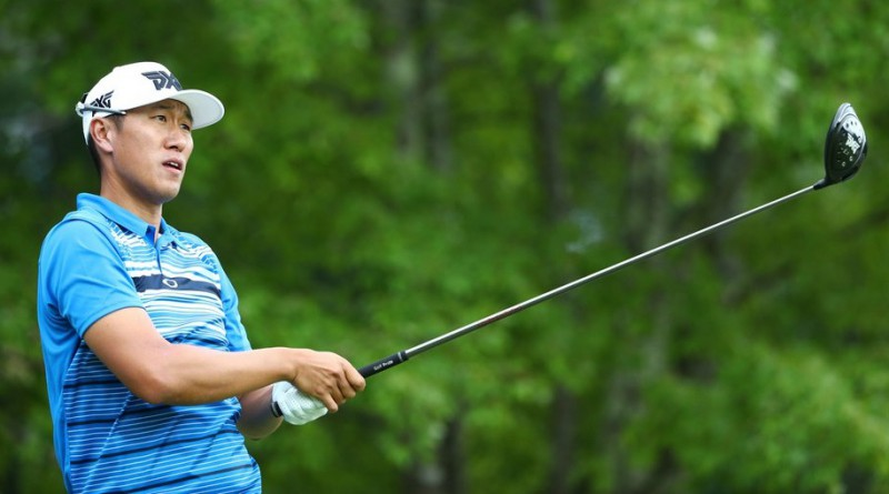 James Hahn leads AT&T Byron Nelson