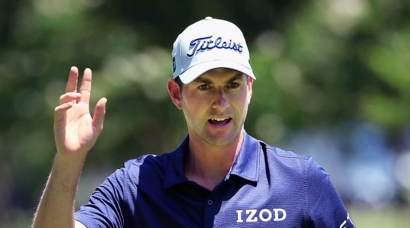 Simpson opens up two-shot lead at Colonial