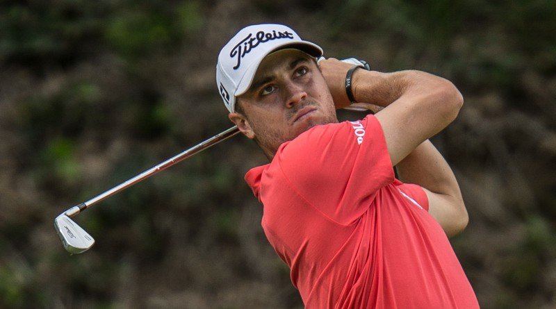 Justin Thomas shoots 63 (Michael Weinstein photo)