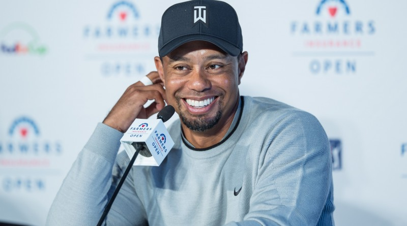 Tiger Woods, won't be at Quicken Loans National (Michael Weinstein photo)