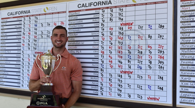 David Gazzolo wins 118th California State Open