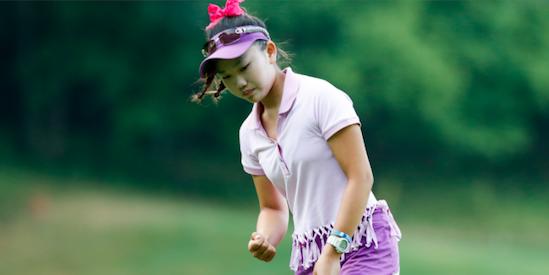 Li leads qualifying at U.S. Girls' Junior