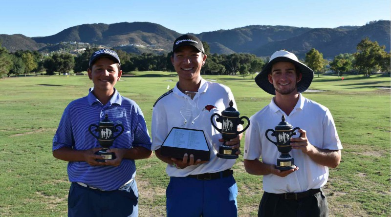 Dylan Menante, Edwin Kuang, Raymond Navis, 57th California State Boys Championship