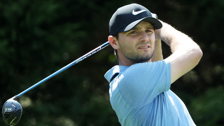 Kyle Stanley leads Tour Championship