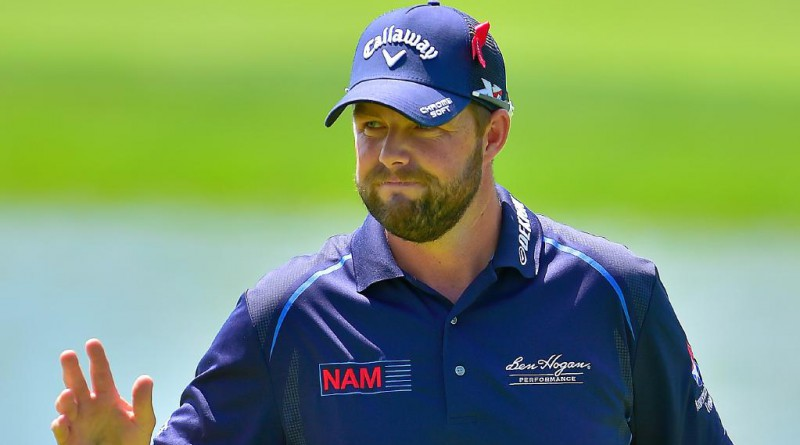 Marc Leishman leads by 5 strokes