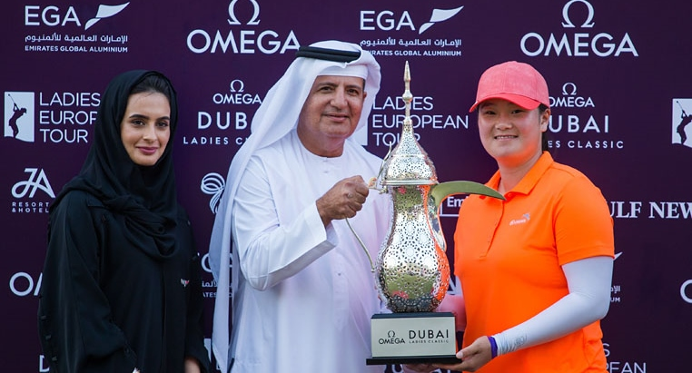 Angel Yin wins in Dubai