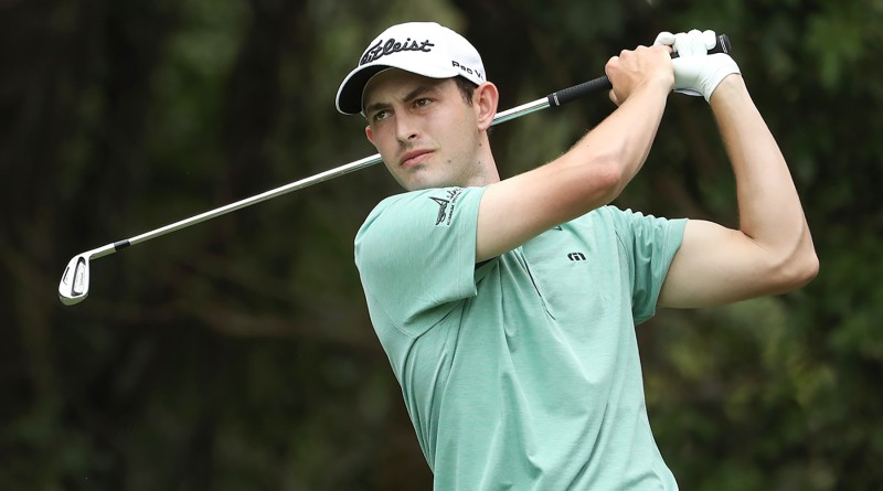 PALM HARBOR, FL - MARCH 12: Patrick Cantlay hits off the third tee during the final round of the Valspar Championship at Innisbrook Resort Copperhead Course on March 12, 2017 in Palm Harbor, Florida.  (Photo by Mike Lawrie/Getty Images)