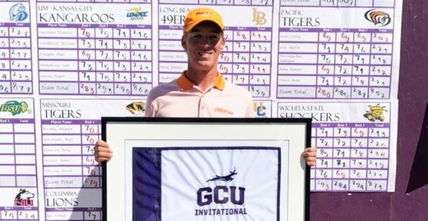Pacific's Scott wins GCU Invitational by 1 shot