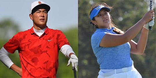 Justin Suh and Lilia Vu